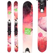 Salomon Rockette Skis + Z10 SC Demo Bindings - Used - Women's 2014