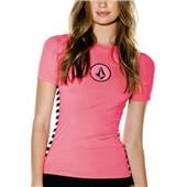 Volcom Simply Solid Circle Stone Short-Sleeve Rashguard - Women's 2014