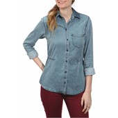 Obey Clothing Rayon St. Germaine Button-Down Shirt - Women's