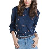 Obey Clothing Alanis Long-Sleeve Button-Down Shirt - Women's