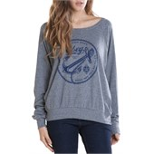 Obey Clothing Tyranny On The High Seas Raglan Top - Women's