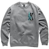 Kr3w Hawk Crew Neck Fleece Sweatshirt