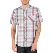 Volcom Weirdoh Plaid Short-Sleeve Button-Down Shirt