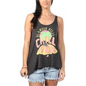 Glamour Kills Chill Out Cat Tank Top - Women's