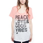 Glamour Kills Good Vibin' Scoop Neck T-Shirt - Women's