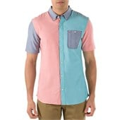 Vans Rusden Block Short-Sleeve Button-Down Shirt