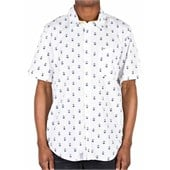 LRG Stay Anchored Short-Sleeve Button-Down Shirt