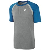Nike SB Dri-Fit Davis Short-Sleeve Henley Top