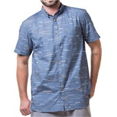 Arbor Creatures Short-Sleeve Button-Down Shirt