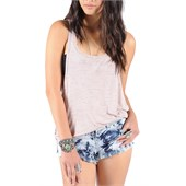 Volcom Lived In Slub Racer Back Tank Top - Women's