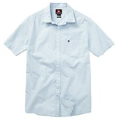 Quiksilver Barracuda Cay Short-Sleeve Button-Down Shirt