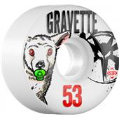 Bones Gravette Pacifier STF Skateboard Wheels