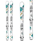 Salomon Bamboo Skis + Z10 Ti Bindings - Women's 2014