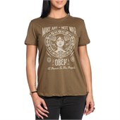 Obey Clothing Make Art Not War 2 T-Shirt - Women's