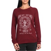 Obey Clothing Make Art Not War 2 Sweatshirt - Women's
