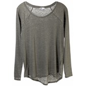 Volcom Lived In Burnout Long-Sleeve Top - Women's