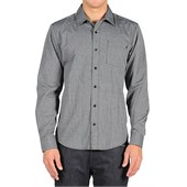 Volcom Weirdoh Solid Long-Sleeve Button-Down Shirt
