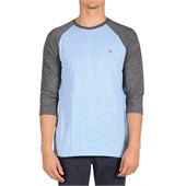 Volcom Mock Twist 3/4 Raglan Top