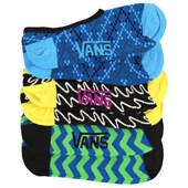 Vans Linear Canoodle Socks - 3 Pair Pack - Women's