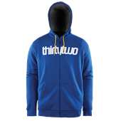 32 Triple Double Zip Fleece Hoodie