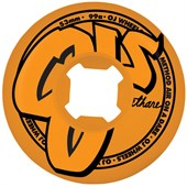 OJ Logo Family Orange 99a Skateboard Wheels