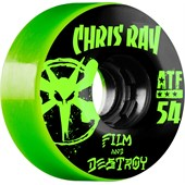 Bones Chris Ray Destroy 80a ATF Filmer Skateboard Wheels