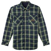 Analog Variant Reversible Long-Sleeve Button-Down Flannel