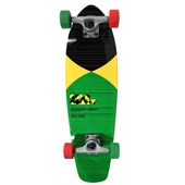Gold Coast Pier Yellow Longboard Complete