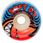 Spitfire Soft D's 92a Skateboard Wheels