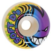 Spitfire Soft D's 95a Skateboard Wheels