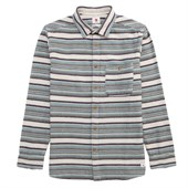 Quiksilver Big Bury Long-Sleeve Button-Down Flannel