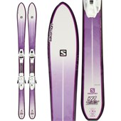 Salomon BBR Starlite Skis + L10 Bindings - Women's 2014