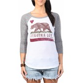 Billabong Bear From Cali T-Shirt - Women's