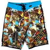 Ronix Blue Hawaiian Boardshorts