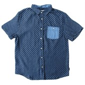 Threads for Thought Polka Dot Short-Sleeve Button-Up Shirt