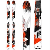K2 AMP Rictor 90 XTi Skis + MXC 14 Bindings 2015