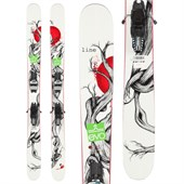 Line Skis Mr. Pollard's Opus Skis + Marker Griffon Demo Bindings - Used 2014