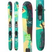 Line Skis Pandora Skis + Marker Griffon Demo Bindings - Used - Women's 2014