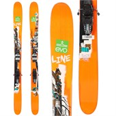 Line Skis Sick Day 110 Skis + Marker Griffon Demo Bindings - Used 2014