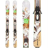 Nordica Nemesis Skis + Marker Squire Demo Bindings - Used - Women's 2014