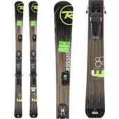 Rossignol Experience 98 Skis + Axial2 120 Demo Bindings - Used 2014