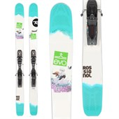 Rossignol Savory 7 Skis + Axial2 120 Demo Bindings - Used - Women's 2014