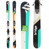 Volkl Bridge Skis + Marker Griffon Demo Bindings - Used 2014