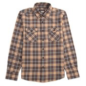 Quiksilver Turner Island Long-Sleeve Button-Down Flannel