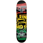 Blind Rasta Youth Mid 7.3 Skateboard Complete - Kid's