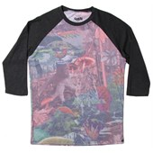 Volcom Shroomed 3/4 Raglan Top