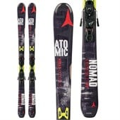 Atomic Nomad Crimson TI Skis + XTO 12 Bindings 2015