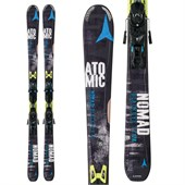 Atomic Nomad Blackeye TI Skis + XTO 12 Bindings 2015