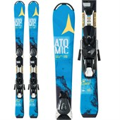Atomic Vantage Jr III Skis + EZY 7 Bindings - Big Kids' 2016