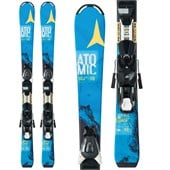 Atomic Vantage Jr II Skis + EZY 5 Bindings - Kid's 2015